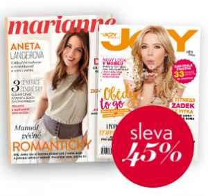 JOY17MD (725,-/2 tituly) - dárek k předplatnému časopisu Marianne