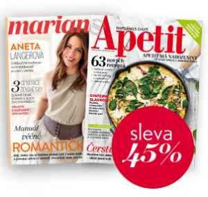 AP17MD (857,-/2 tituly) - dárek k předplatnému časopisu Marianne