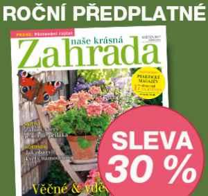 NKZ0517 (462,-/12 čísel) - dárek k předplatnému časopisu Naše krásná zahrada