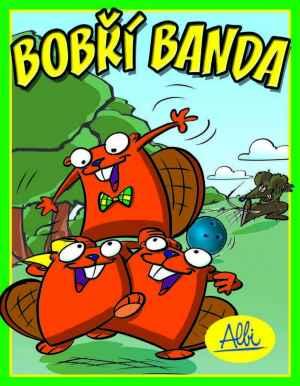 Karetní hra Bobří banda - dárek k předplatnému časopisu Informatorium 3-8