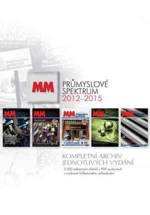 Archiv DVD - dárek k předplatnému časopisu MM Průmyslové spektrum