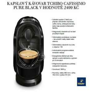 MP 0617 Kávovar Tchibo - dárek k předplatnému časopisu Moje psychologie