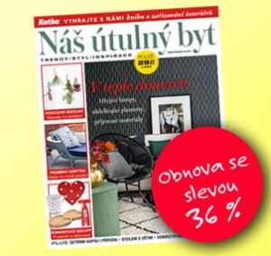 NUB17VR (12 čísel) - dárek k předplatnému časopisu Náš útulný byt