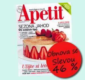 AP17VR (12 čísel) - dárek k předplatnému časopisu Apetit