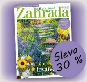 NKZ0717 (462,-/12 čísel) - dárek k předplatnému časopisu Naše krásná zahrada