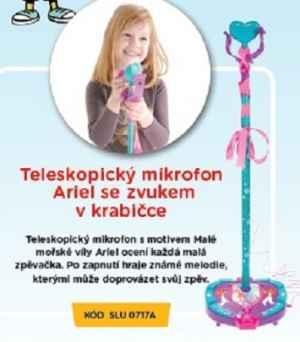 SLU 07 17A Teleskop.mikrofon - dárek k předplatnému časopisu Sluníčko+ DVD