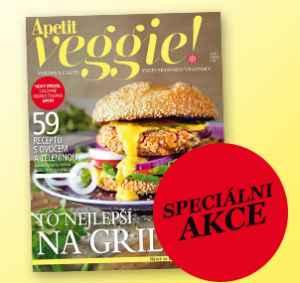 Akce s heslem (199,-/4 čísla) - dárek k předplatnému časopisu Apetit Veggie