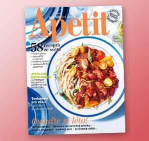 AP1708_12 (479,-/12 čísel) - dárek k předplatnému časopisu Apetit