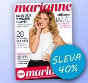 MR17DM (503,-/12 čísel) - dárek k předplatnému časopisu Marianne