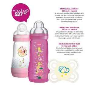 MAM  0817 Produkty MAM - dárek k předplatnému časopisu Maminka