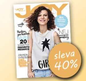 JOY17DM (288,-/12 čísel) - dárek k předplatnému časopisu Joy