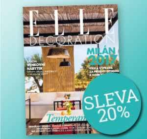 ED17DM (383,-/4 čísla) - dárek k předplatnému časopisu Elle Decoration