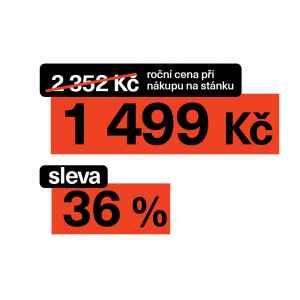 Roční se slevou 38% - dárek k předplatnému časopisu EURO