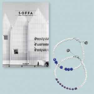 Handmade MOOYYY bracelet - dárek k předplatnému časopisu SOFFA in English