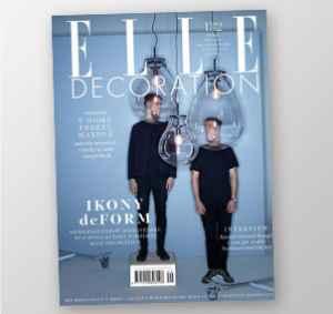ED1703 (383,-/4 čísla) - dárek k předplatnému časopisu Elle Decoration