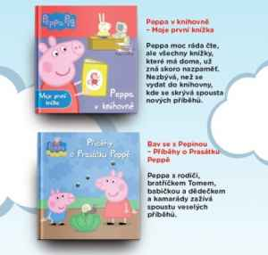 SLU 0917 Knihy Peppa - dárek k předplatnému časopisu Sluníčko