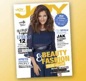 JOY1710_12 (319,-/12 čísel) - dárek k předplatnému časopisu Joy