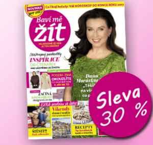 BMZ1710 (289,-/12 čísel) - dárek k předplatnému časopisu Baví mě žít