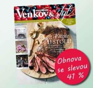MV17VR_1 (10 čísel) - dárek k předplatnému časopisu Marianne Venkov & styl