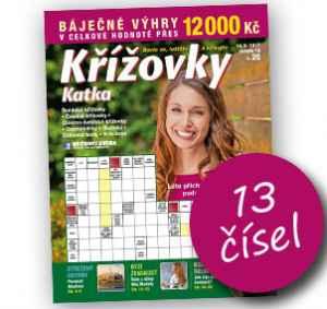 KK17KP (170,-/13 čísel) - dárek k předplatnému časopisu Katka Křížovky