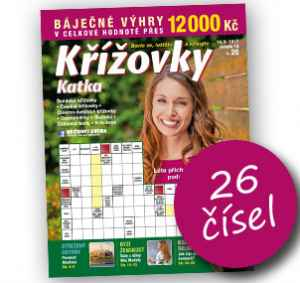 KK17KR (339,-/26 čísel) - dárek k předplatnému časopisu Katka Křížovky