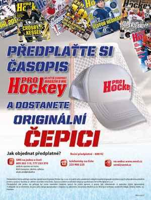 Kšiltovka Pro Hockey - dárek k předplatnému časopisu ProHockey