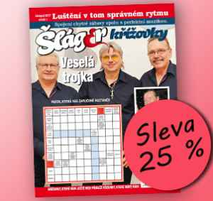 SLA1711 (179,-/12 čísel) - dárek k předplatnému časopisu Křížovky se Šlágr TV