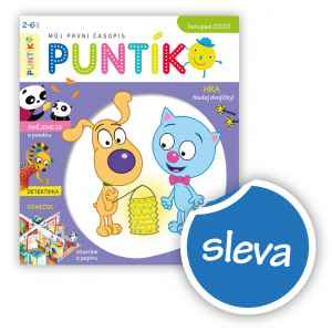 SLEVA - dárek k předplatnému časopisu Puntík