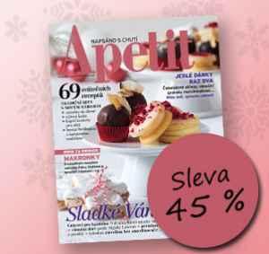 AK1712 (395,-/12 čísel) - dárek k předplatnému časopisu Apetit