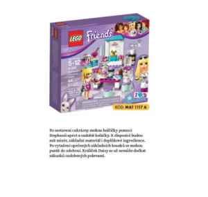 MAT  1117A Lego Friends - dárek k předplatnému časopisu Mateřídouška