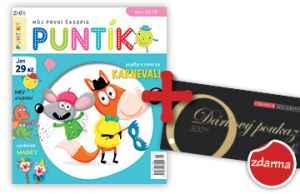 Voucher COLOSEUM za 500 Kč - dárek k předplatnému časopisu Puntík