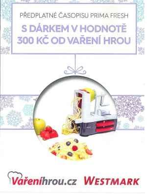 Varenihrou.cz - 300kč - dárek k předplatnému časopisu Prima FRESH