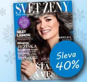 SK1712 (216,-/12 čísel) - dárek k předplatnému časopisu Svět ženy
