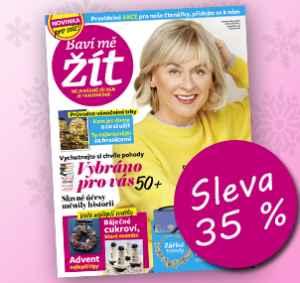 BMZ1712K (269,-/12 čísel) - dárek k předplatnému časopisu Baví mě žít