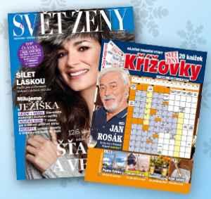 SK1712_K ( 349,-/ 2 tituly) - dárek k předplatnému časopisu Svět ženy