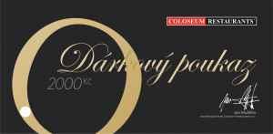 Voucher COLOSEUM 2000 Kč - dárek k předplatnému časopisu EURO