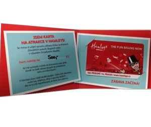 Karta 500 Kč do Hamleys - dárek k předplatnému časopisu EURO