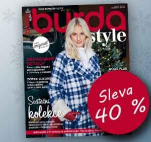 BUK1712 (936,-/12 čísel) - dárek k předplatnému časopisu Burda