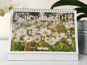 Stolní kalendář 2018 - dárek k předplatnému časopisu Bylinky revue + Zdravé recepty