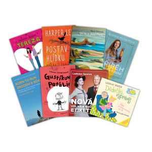 Knihy za 500 Kč - dárek k předplatnému časopisu Gynekolog