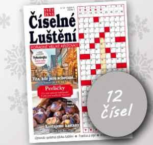 SZ18CL_12 (179,-/12 čísel) - dárek k předplatnému časopisu Svět ženy číselné luštění