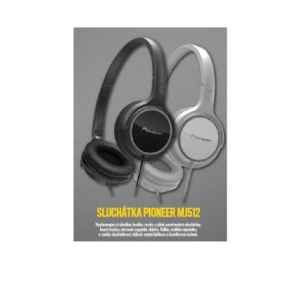 FM  1217A Sluchátka Pionner - dárek k předplatnému časopisu ForMen