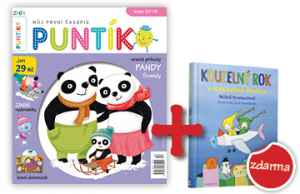 Kniha Kouzelný rok - dárek k předplatnému časopisu Puntík