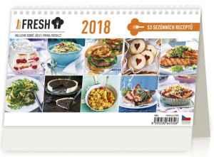 Kalendář Prima Fresh - dárek k předplatnému časopisu Ano, šéfe!
