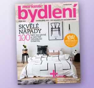 BD1802_11 (478,-/11 čísel) - dárek k předplatnému časopisu Marianne Bydlení