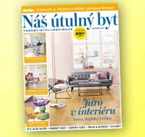 NUB1803 (249,-/12 čísel) - dárek k předplatnému časopisu Náš útulný byt
