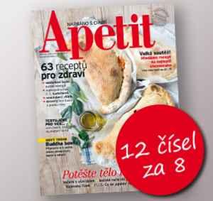 AP1803_12 (479,-/12 čísel) - dárek k předplatnému časopisu Apetit