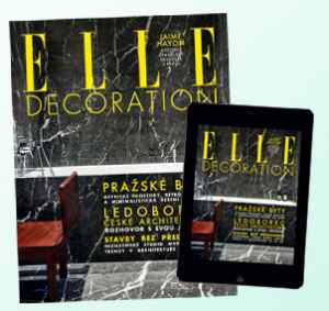ED18Dig4 (459,-/4 čísla) - dárek k předplatnému časopisu Elle Decoration
