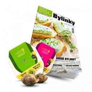 Semínka - dárek k předplatnému časopisu Bylinky revue + Zdravé recepty