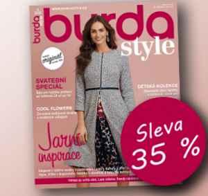 BUR1803_S (999,-/12 čísel) - dárek k předplatnému časopisu Burda